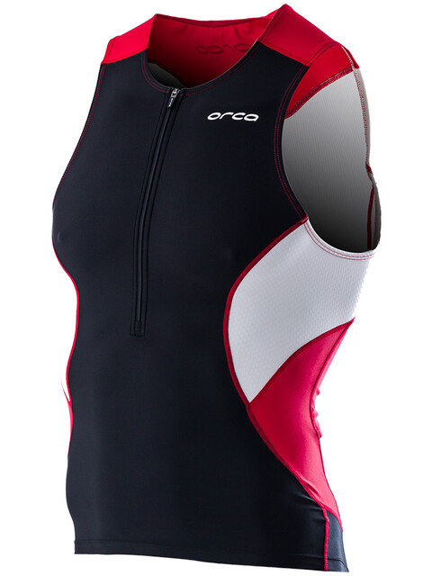 ORCA Core Tri Top Men black/poinsettia